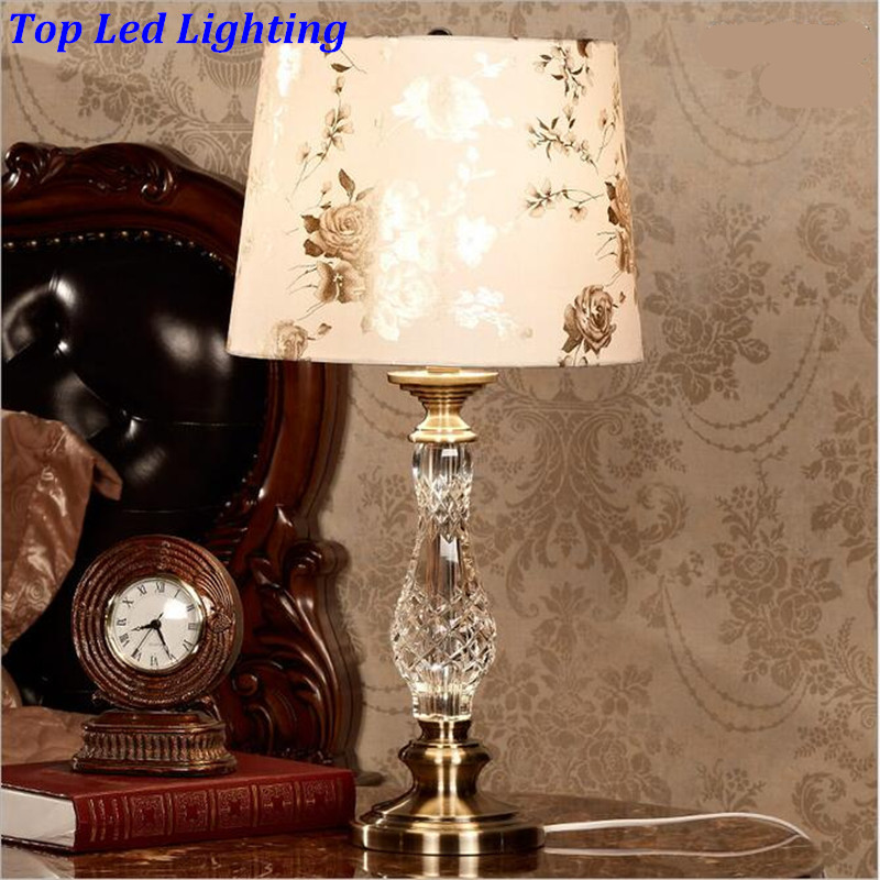 Elegant Luxurious PVC Clear K9 Crystal Table Lamp for Wedding Decor ...
