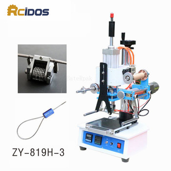 ZY-819H-3 RCIDOS Automatic Stamping Machine,pressure words machine,LOGO stampler,automatic Numbering machine(220V/50Hz)