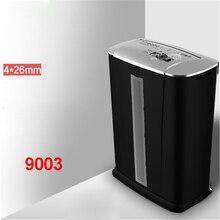 9003 13L Electric Mini Shredder File Shredder Strip Office Home High Power Electric Shredding 220V 250W