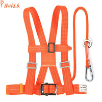 2pcs Climbing Rope Seat belt Outdoor Rock Lanyard Construction safety vest High Strength Camping Cord Hiking Accessory