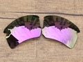 Plasma Purple Mirror Polarized Replacement Lenses For Flak 2.0 XL Sunglasses Frame 100% UVA & UVB Protection