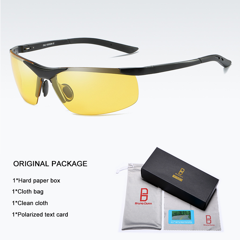 Bruno dunn 2020 Men Sunglasses Polarized uv400 high quality oculos de sol masculino oversized sunglases lunette soleil homme 10