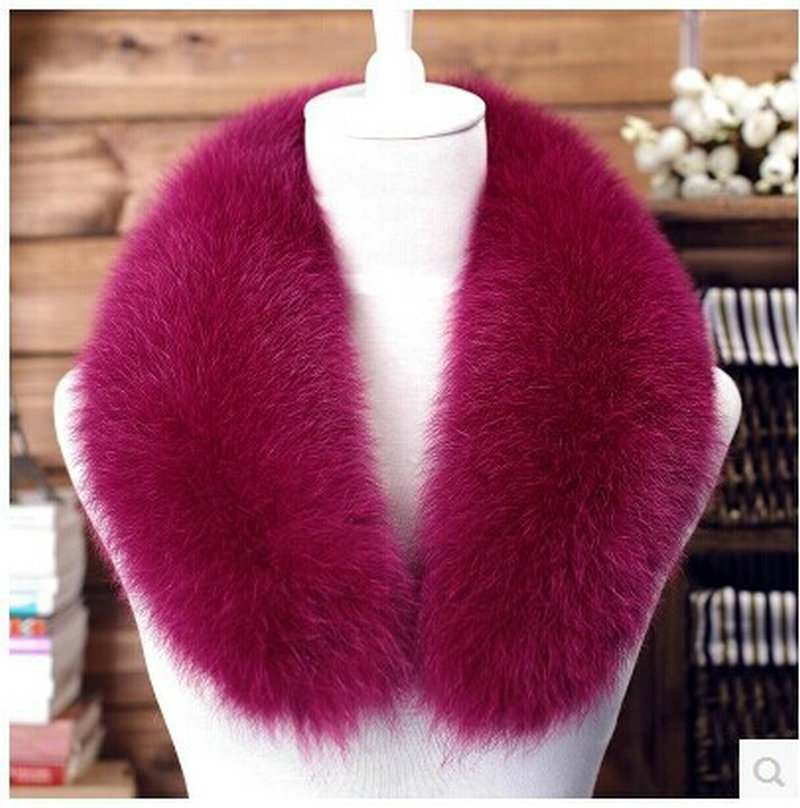 women's fashion fox fur collars Scarves 2015 winter warm large fox fur shawl lapel  fur collar  coat to keep warm