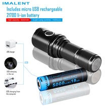 IMALENT  LED DM35 Palm Thunder Concentrating Glare Flashlight Endurance Strong Small Outdoor Flashlight Lighting Tools