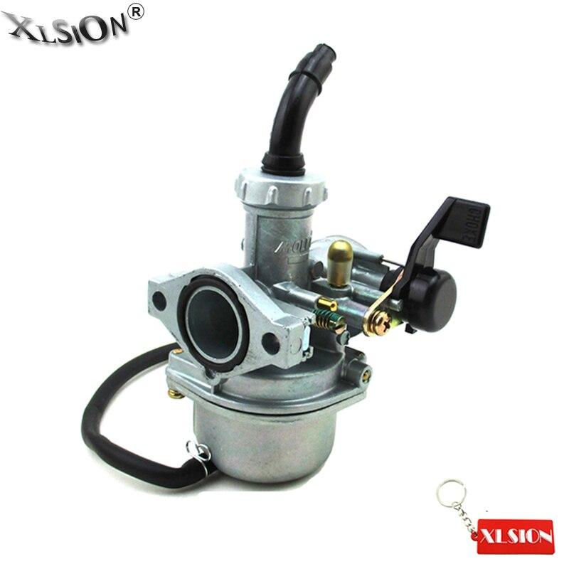 US $20 45 25% OFF|XLSION 22mm Carburetor Carb Left Choke For Honda XR50  CRF50 XR70 CRF70 Pit Dirt Bikes Kawasaki KLX110 Dirt Bike 110cc PitBike-in