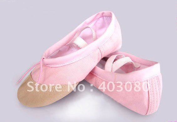 Wholesale & retail (flat ballet shoes, canvas shoes, leather shoes head ballet performances