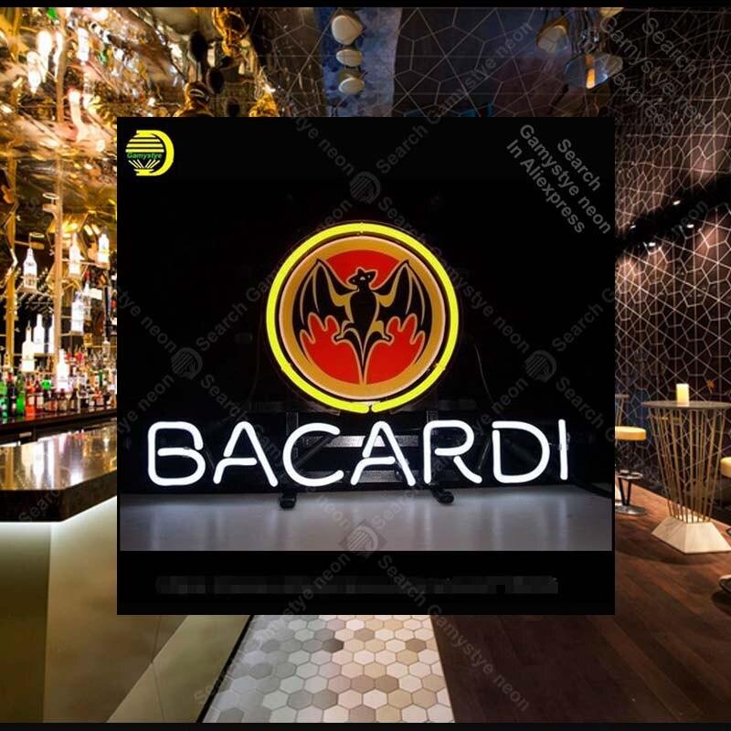 Enseigne au néon pour Bacar distillerie néon ampoules signe bière Bar Pub publicité magasin affichage néon Tube signe artisanat Publicidad lampe