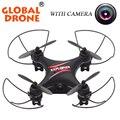 Global drone droni gw009c 2.4g 4 canais helicóptero de controle remoto crianças toys helicóptero ufo aeromodelo quad vs cheerson cx-10