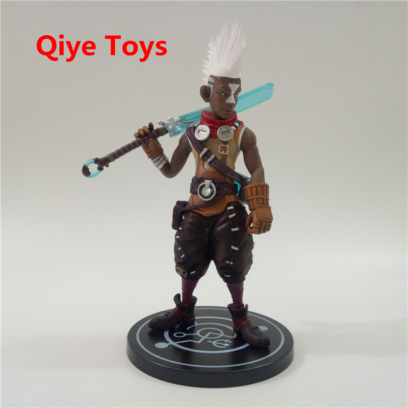 20cm Game LOL Ekko PVC Action figure the Boy Who Shattered Time Doll Toys Christmas Gift20cm Game LOL Ekko PVC Action figure the Boy Who Shattered Time Doll Toys Christmas Gift