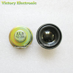 2 шт./лот, высокое качество, рупорный динамик, 3 Вт, диаметр 4R, 4 см, мини-усилитель, резиновая прокладка, громкоговоритель, труба