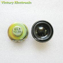 Высококачественный звуковой сигнал 2 шт./лот, 3 Вт, 4R, диаметр 4 см, мини усилитель, резиновая прокладка, громкоговоритель, труба