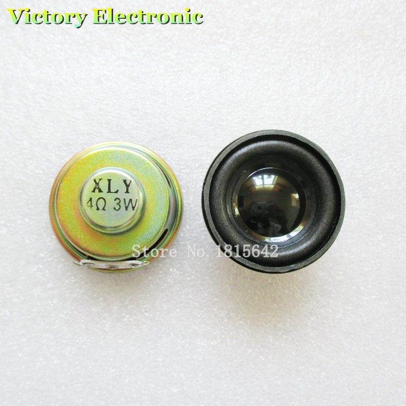 2PCS/Lot High Quality Speaker Horn 3W 4R Diameter 4CM Mini Amplifier Rubber Gasket Loudspeaker Trumpet