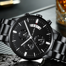DROP SHIPPING Mens Watches Top Brand Luxury Chronograph