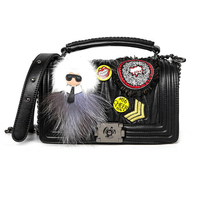 FASHION KARL Luxury Handbags WOMAN Bags Designer PURSE LEATHER SHOULDER BAGS FOR WOMAN 2019 bolsa feminina
