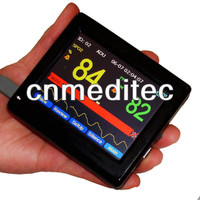CONTEC PM60A PalmSize Сенсорный экран пульса, SPO2 насыщения крови кислородом монитор программного обеспечения Портативный ручной пульсоксиметр