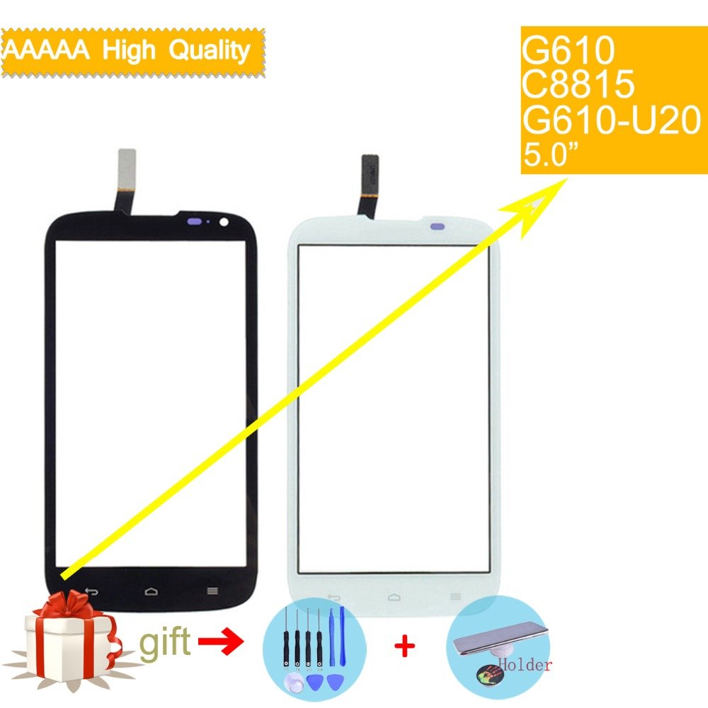 For Huawei Ascend G610 C8815 G610-U20 Touch Screen Touch Panel Sensor Digitizer Front Outer Glass Lens Touchscreen No LCD