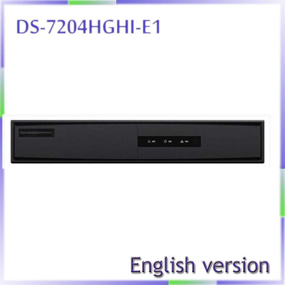 все цены на free shipping english version Turbo HD DVR DS-7204HGHI-E1 ,Support HD-TVI/analog/IP camera triple hybrid онлайн