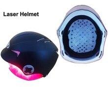 2016 hot Hair Regrow Laser Helmet 64 Medical Diodes Treatment Hair Loss Solution Hair Fast Regrowth LLLT Laser Cap + Free glass