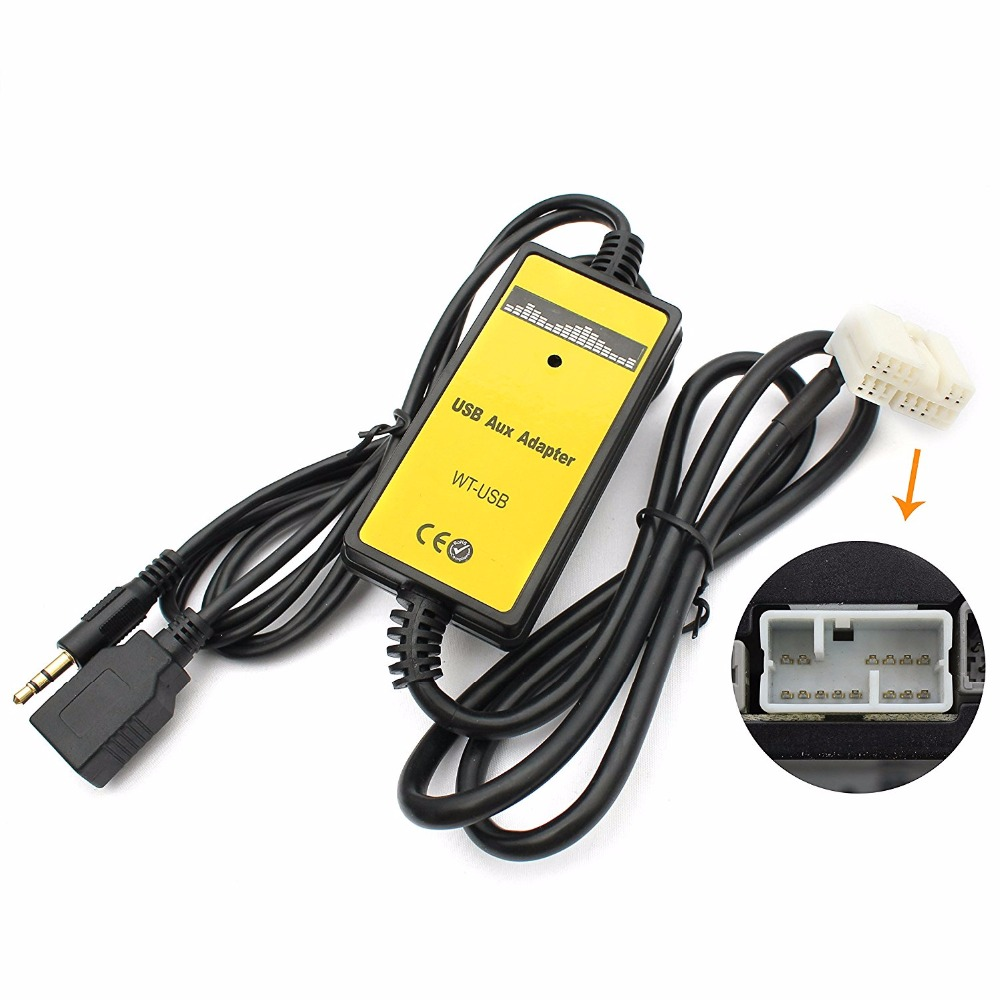 Original Patented Car Usb Aux Audio Mp3 Adapter Cd Changer