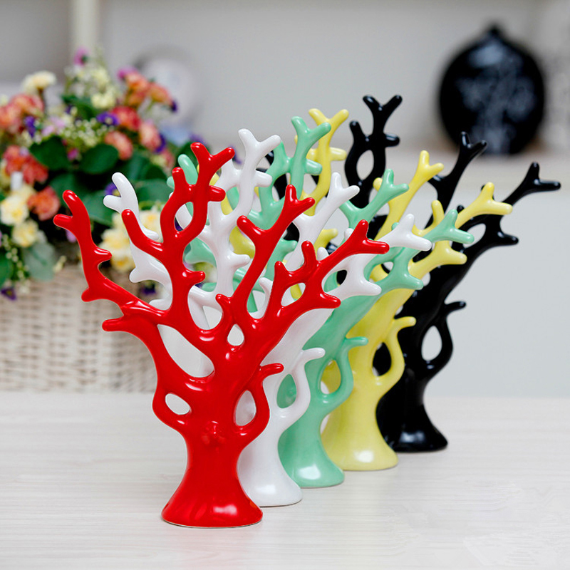 Factory direct wholesale 5PC set No duplicate colors art craft Fashion wedding gift furnishings decoration home ceramic crafts