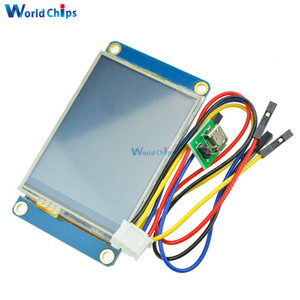 """Image 3 - Tiếng Anh Nextion 2.4 """"TFT 320X240 Màn Hình Cảm Ứng Điện Trở USART UART Màn Hình HMI Nối Tiếp Module LCD Hiển Thị Cho Arduino raspberry Pi 2 A +"""