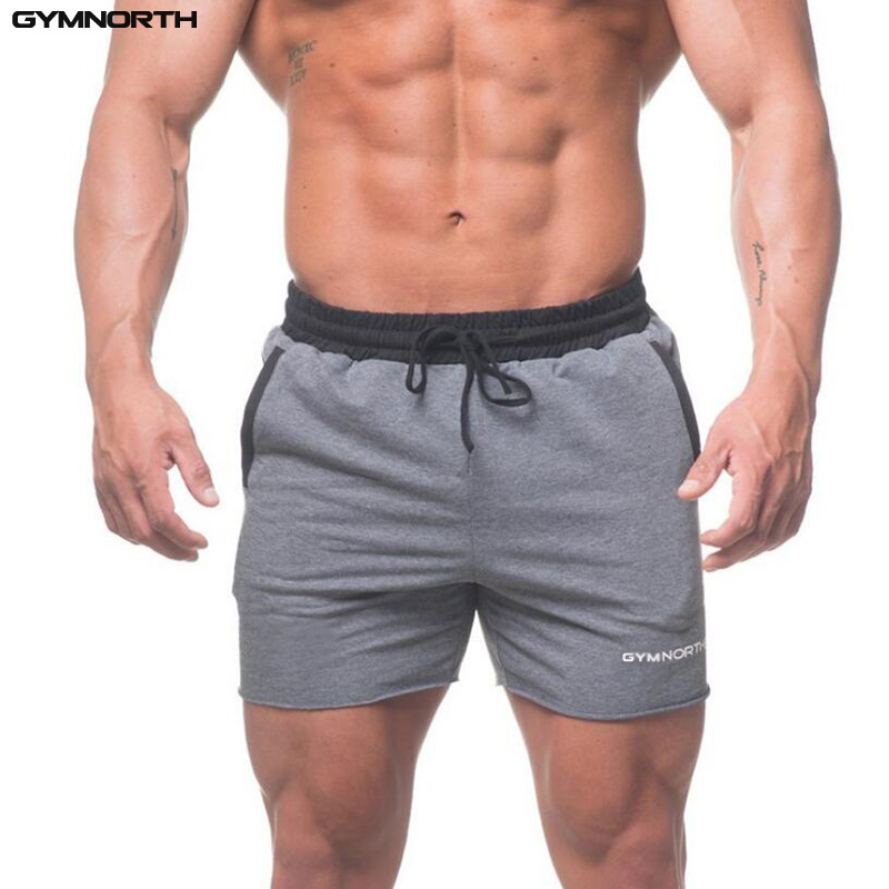 GYMNORTH Mens Board Shorts Sexy Beach Bermuda Wear Sea Short Men Shorts Cotton 2018 Casual Sweatpants Fitness Short Jogger
