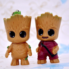 hot deal buy new cute movie guardians of the galaxy mini baby tree man model action toy figures cartoon pendant dolls kids toy gift