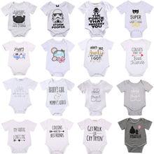 Для новорожденных, для маленьких мальчиков и девочек, комбинезон для новорожденных, одежда на рост комбинезоны, одежда для детей с круглым вырезом пуловер-комбинезон наряд Новинка; Лидер продаж