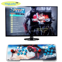 3D Pandora key 7 2200 in 1 Arcade Video Game Console 1920x1080 Full HD 2 Players Arcade Machine Support TF Card to Add More Game