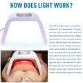 LED PDT Terapia de luz Azul Rojo Amarillo Verde 4 Color Led Lámpara de Fototerapia de Luz Mascarilla Máquina Para Rejuvenecimiento de La Piel