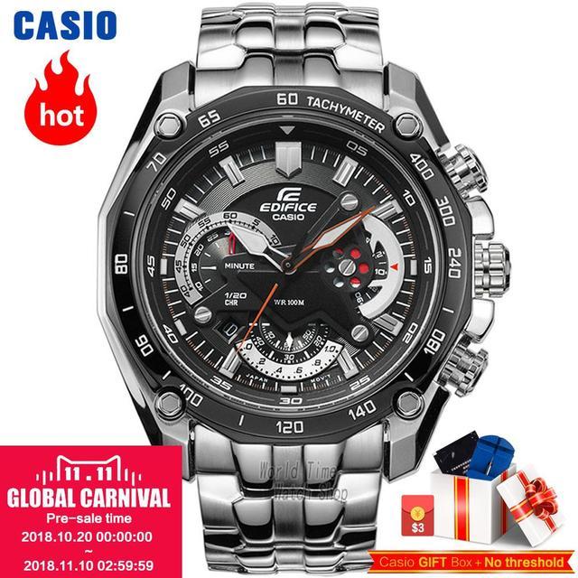 casio watch quartz multifunctional casual men watch ef 550d 1a ef rh aliexpress com casio edifice ef-550d user guide Casio Edifice Black Label