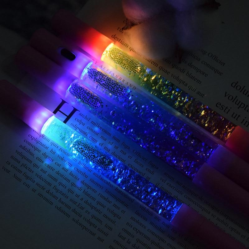 SAILEROAD Kids Magic Light Toys Luminous Light Pen Glow In The Dark Toys Gel Pen Baby Boy Girls Cool Glowing Toys Kids Shine Toy