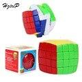 NUEVO Profesional Cubo Mágico 4x4x4 Color Del Arco Iris de Pan Tipo Puzzle Velocidad Juguetes Clásicos de Aprendizaje y Educación para Niños de Regalos