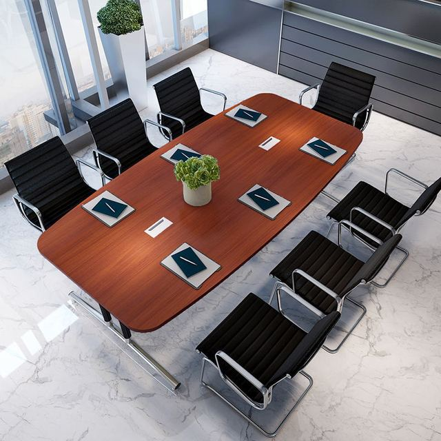 Conference Tables Office Furniture Commercial Furniture Wood+steel Modern  Office Tables 480*140*