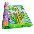 200*180 cm esteira do Jogo de Puzzle para Crianças de Dupla Face de espuma eva tapete brinquedo para o bebê crianças desenvolvimento Praia tapete de piquenique esteiras Assento 717