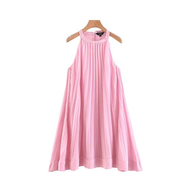 Women Solid Mini Dress...