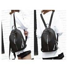 Mummy Bag Shoulder Korean Waterproof Oxford Cloth Ribbon Fashion Wild Outdoor Diaper Bag Fashion Ribbon Casual Black Female Trav