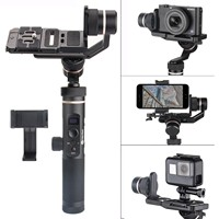 Feiyu G6 Plus 3 Axis Splash proof WIFI Handheld Gimbal for Gopro Xiaomi SJCAM Sony RX0 RX100 A6300 A6500 Canon EOS M50 M6 M5