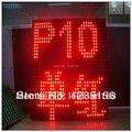 Alibaba выразить китай парадокс матрица p10 одноцветный из светодиодов модуль на открытом воздухе дисплей высокая яркость - красный цвет