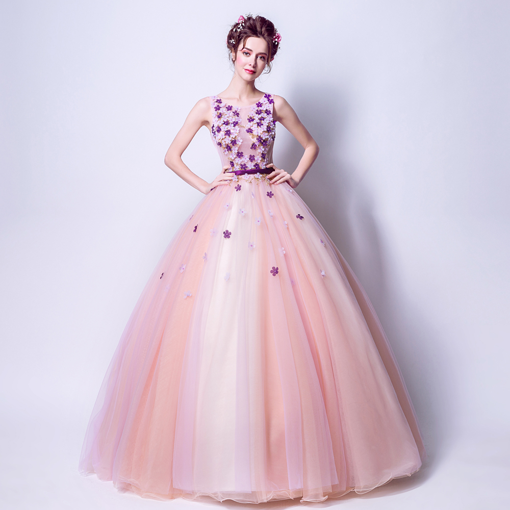 Online Buy Wholesale wedding dress with flower petals from China ...