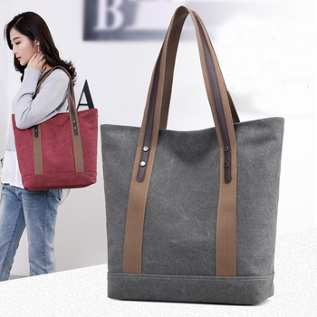 Canvas Leisure Totes Handbag