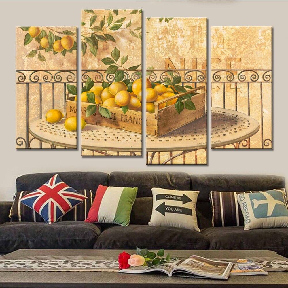 Dorable 4 Piece Canvas Wall Art Composition - The Wall Art ...
