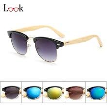 2017 De Bambú gafas de Sol de Mujer de Marca Diseñador de Las Señoras Gafas de Sol Mujer gafas de Sol de Los Hombres UV400 Tonos de Calidad Superior Gafas de Sol Gafa