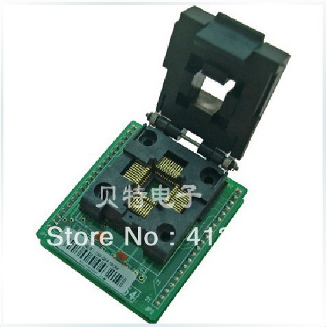 Import CNV-QFP-16C64 burning TQFP44/QFP44 test socket adapter adapter import cnv msop 8 test socket adapter convert burn msop8 to dip8