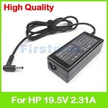 19,5 V 2.31A 45W Ноутбук AC адаптер питания зарядное устройство для hp ProBook 11 EE G1 Envy 15-u000 15t-u000 x360 конвертируемый ПК