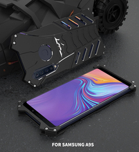 Shockproof Metal Case For Samsung Galaxy A9 Star A9Star Lite A9S A9(2018) Hard Cover Heat Dissipation Sports+Straps+Stand