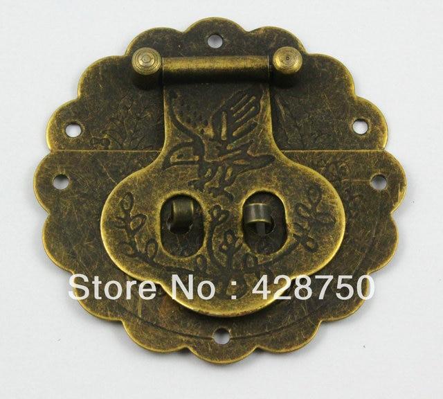 Aliexpresscom Buy Antique Brass Eagle Jewelry Box Hasp Latch Lock