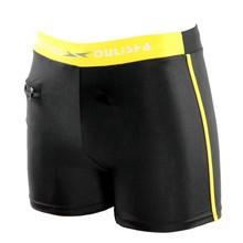 Nuevo traje de baño de los hombres natación troncos Boxer natación pantalones cortos de baño de los hombres traje de pantalones 2019 verano sexy pantalones cortos de playa