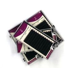 High Quality 0.20 12 lines Individual Eyelashes Black All Size Natural Eyelashes,Fake False Mink