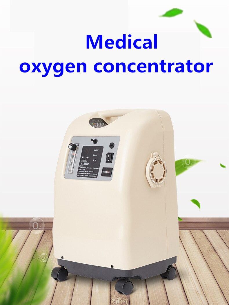 Image 5 - Молекулярное сито hepa фильтр медицинский портативный 3л/5л концентратор кислородаКислородная машина